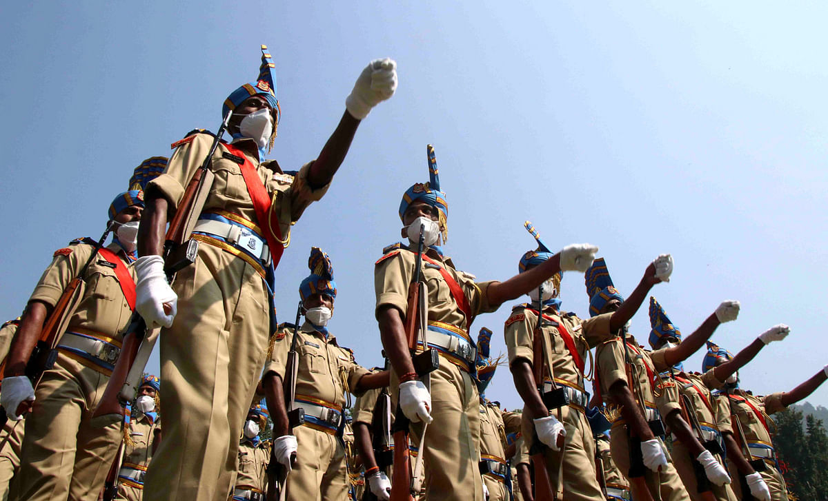 Full-Dress Rehearsals in J&K Ahead of Independence Day Celebrations