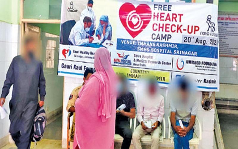 Gauri Kaul Foundation organises heart check-up camp at IMHANS