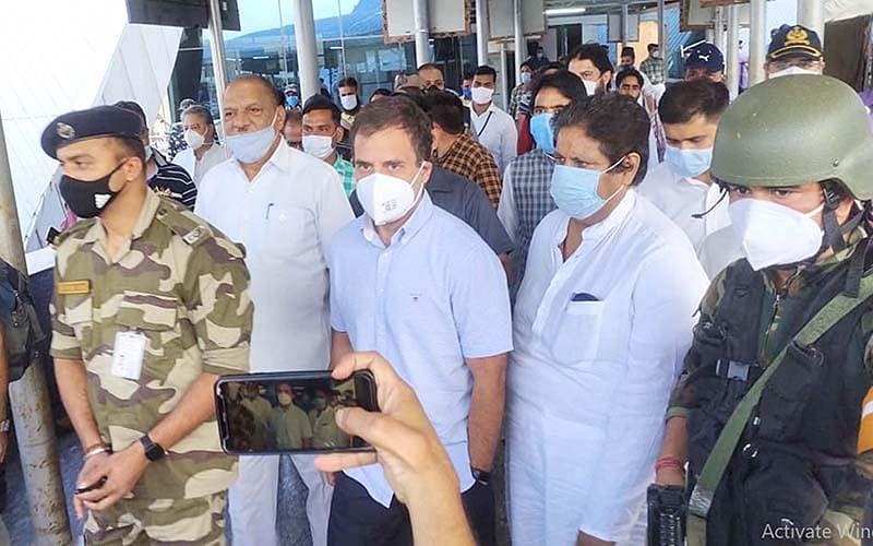 Rahul Gandhi begins 2-day Kashmir visit