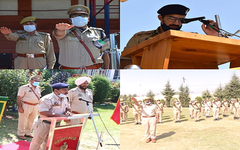 Police holds ceremonies