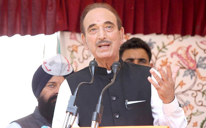 Hope PM fulfills Congress' 5 demands: Azad