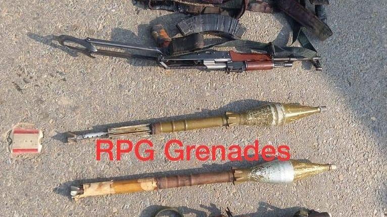 RPG launcher, grenades recovered from Kulgam encounter site, major incident averted: IGP Kashmir
