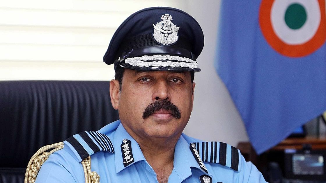 IAF chief reviews progress of air power projects
