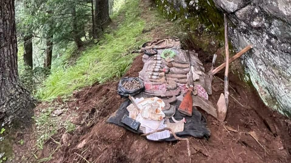 'Warlike' stores recovered from hideout in J&K's Doda