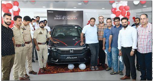 Shuhul Honda unveils New Honda Amaze