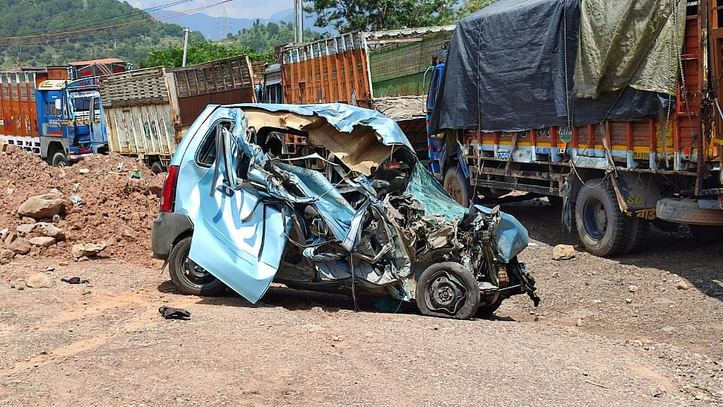 Two dead, another injured in truck-car collision inside Chenani-Nashri Tunnel