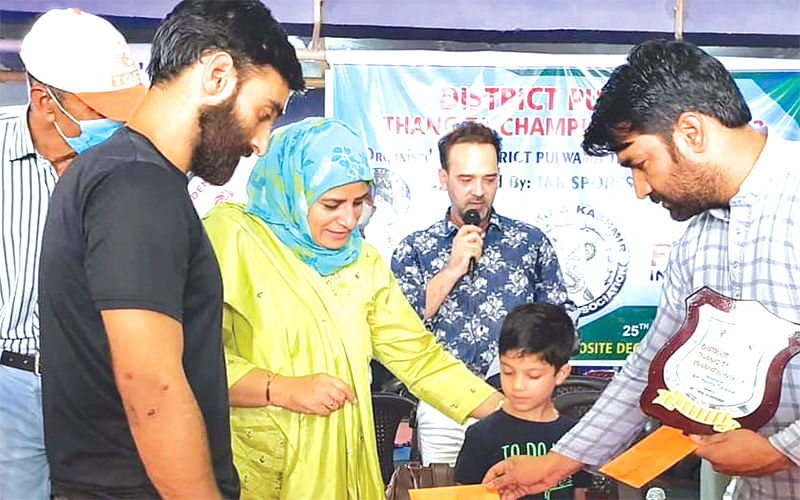 Pulwama Thang-Ta championship concludes