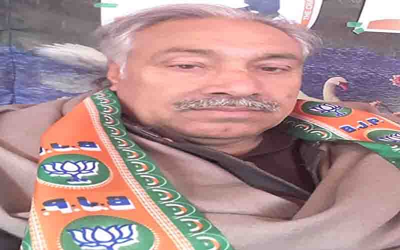 BJP leader dies of heart attack