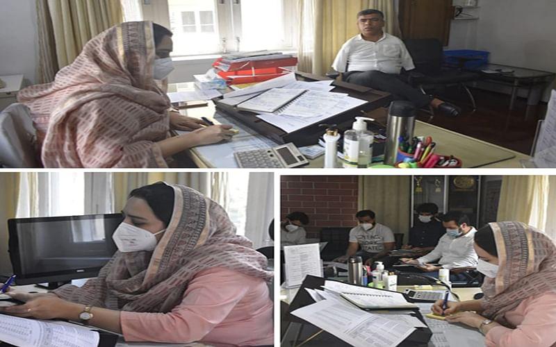 Establish RLM Haats at District level :Sehrish