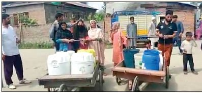 Acute water scarcity hits Sopore village, residents suffer