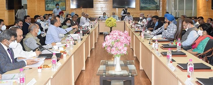 Parliamentary Standing Committee on Home Affairs meets J&K civil admin