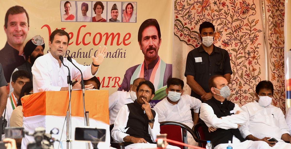 Rahul says visiting Kashmir feels like coming home