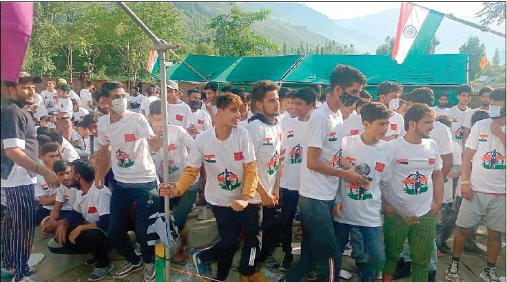 'Run for Nation' held in Kalaroose Kupwara