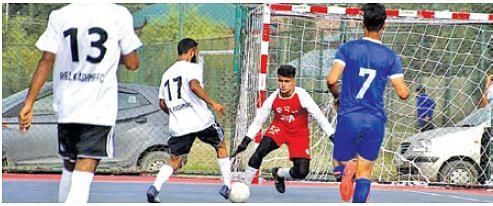 Futsal Championship  Real Kashmir FC beat Sports Council-XI 9-4