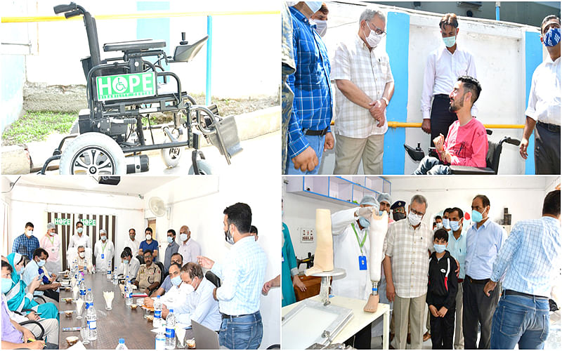 Advisor Khan spends day with differently-abled children