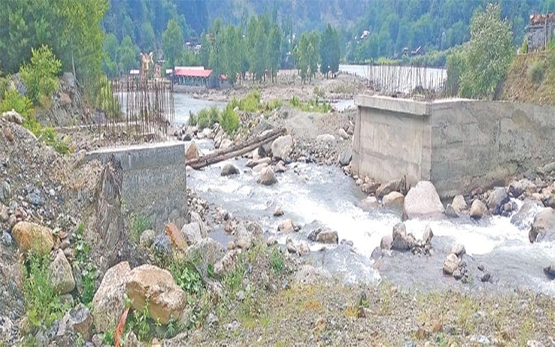 5 years on, Keran bridge incomplete