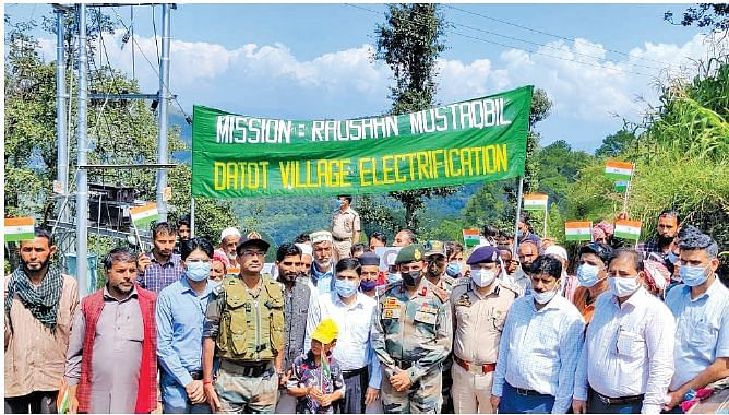 Rajouri's LoC residents see electricity first time in life