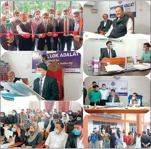 National Lok Adalat held in J&K, Ladakh