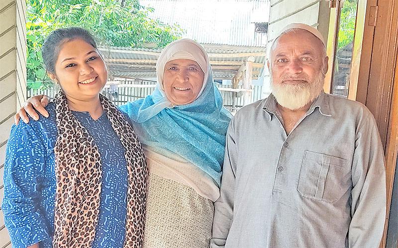 'Kashmiris treated me as their daughter'