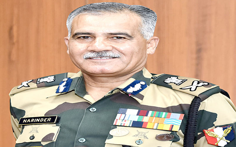 IG BSF Jammu Frontier promoted to ADG rank