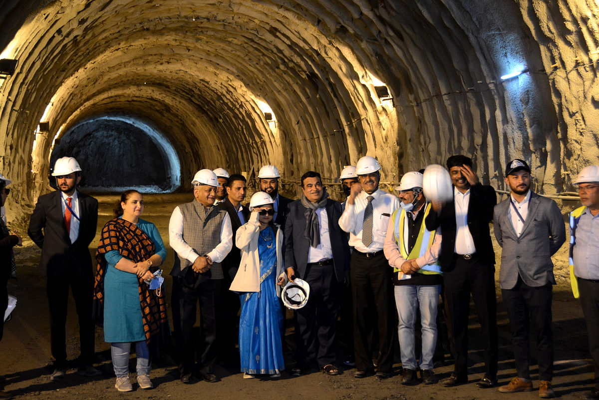 Asia's longest tunnel in J&K coming up ahead of schedule