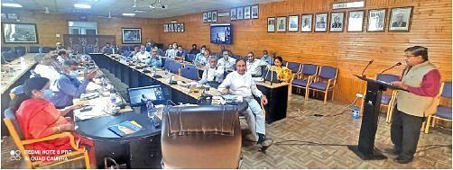 SKUAST-K holds brainstorming workshop on Innovation, Startup Policy-2021