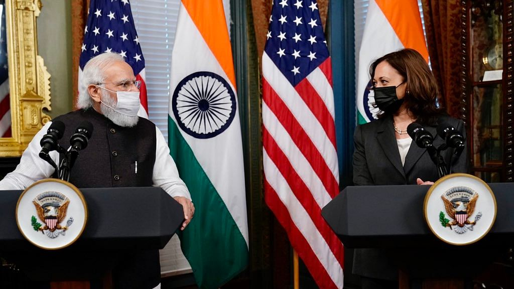 PM Modi meets US Vice President Kamala Harris; discusses bilateral ties, Indo-Pacific