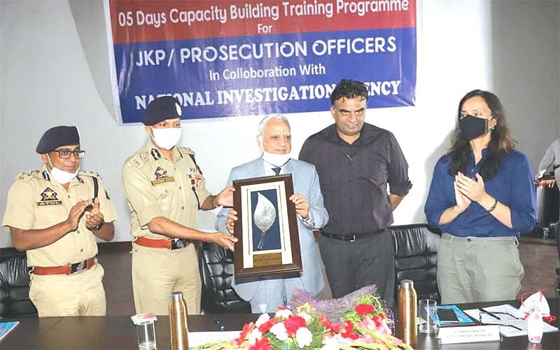 3rd phase of training programme on capacity building of JKP with NIA concludes