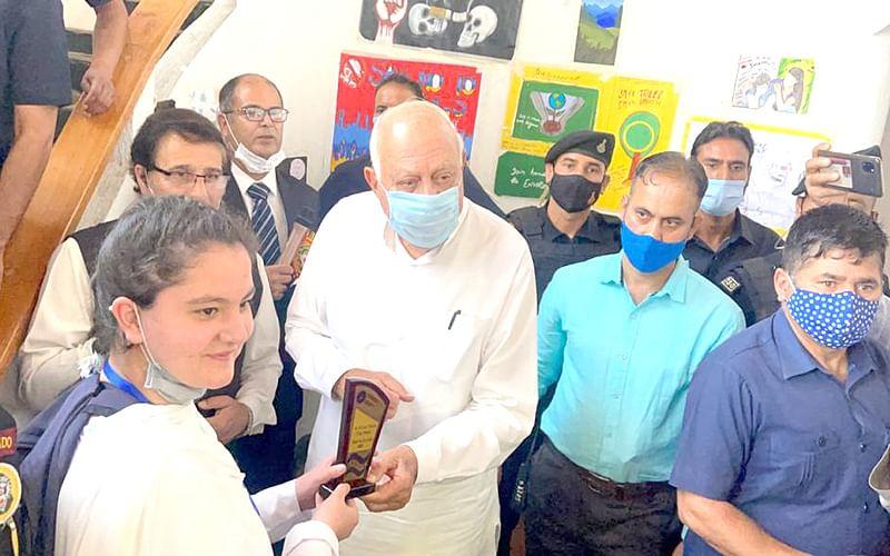 Will partner civil society in eradicating drug addiction; curb environmental degradation: Farooq Abdullah