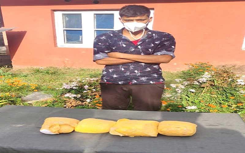 'Drug smuggler' arrested in Kupwara