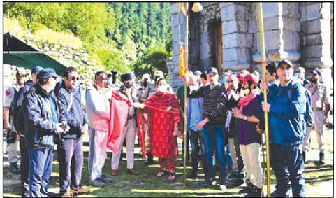 Annual Harmukh-Gangabal Yatra commences