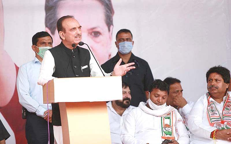 Azad picks holes in 'Darbar Move' curtailment