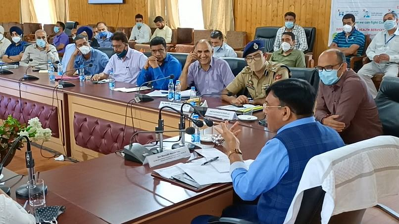 Centre keen to provide efficient, inclusive healthcare services to people of J&K: Mandaviya