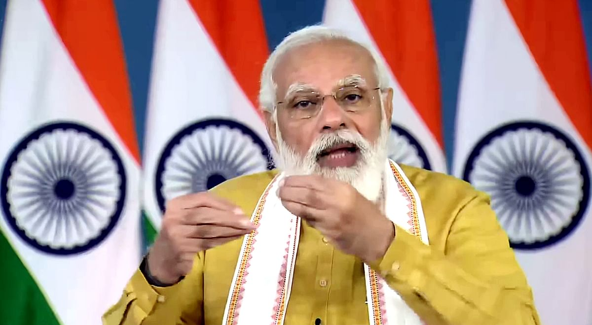 PM Modi accuses opposition of intellectual dishonesty, political deceit