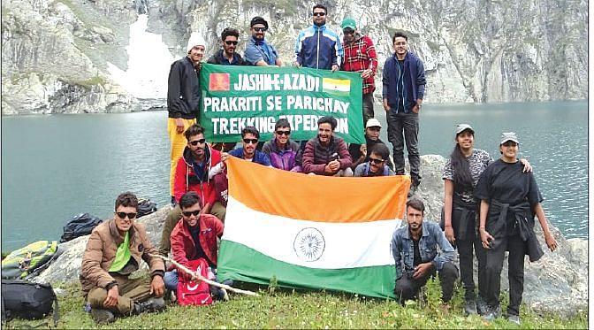 Jashn-e-Azadi 'Prakriti se Parichay' adventure trek organised in Gurez