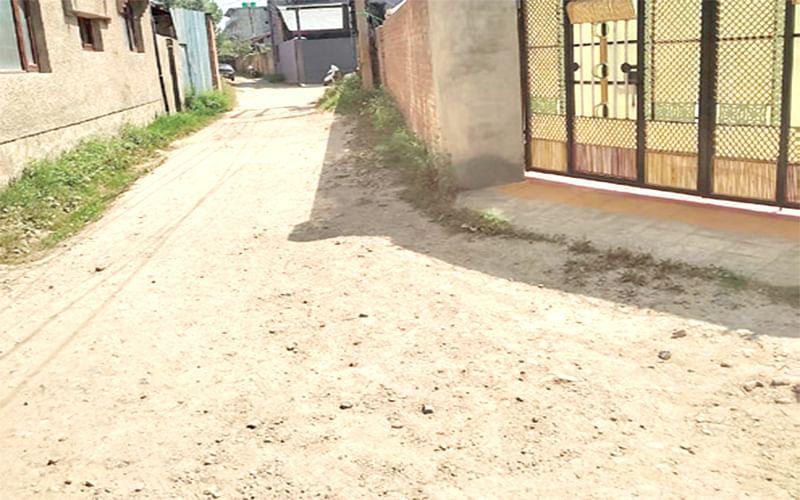 Colony Woes | Mirabad residents demand macadamization