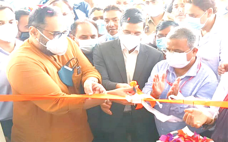 Union MOS inaugurates new building of SDH Charar-i-Sharief