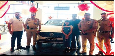 MG Motor India launches Astor in Srinagar
