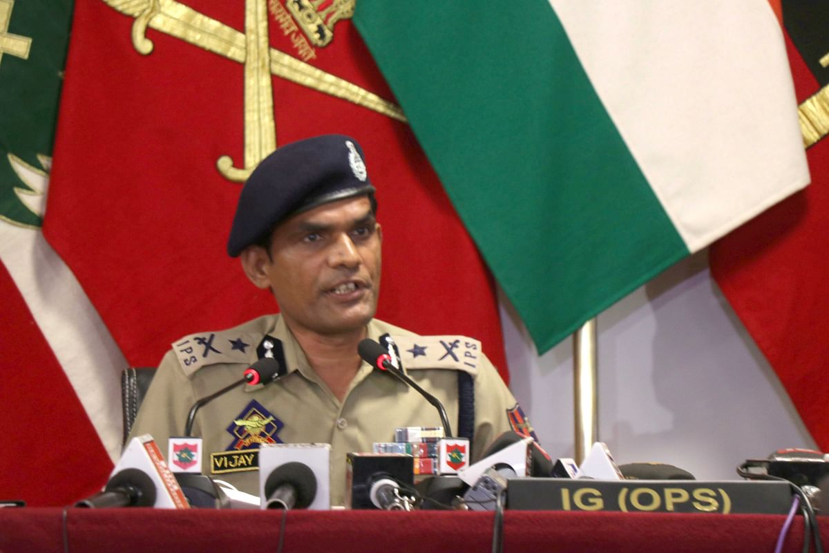 There is change in strategy from across the border: IGP