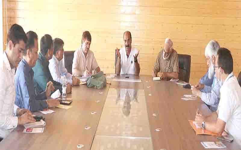 Modalities for saffron cultivation in Sikkim discussed with Agrideptt