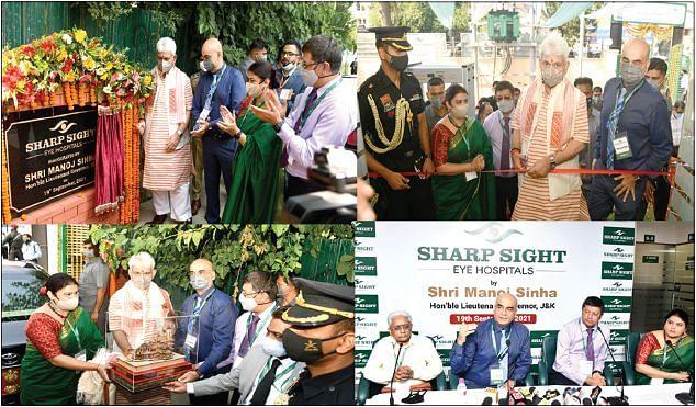 LG inaugurates Sharp Sight Eye Hospital at Barzulla