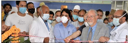 SKIMS inaugurates separate counter for senior citizens, Central Govt pensioners