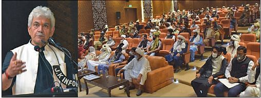 Development of J&K's tribal communities our top priority: LG