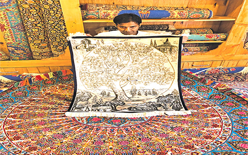 Calligraphy on Carpets