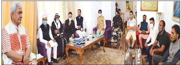 Admin paying attention to development of remote areas: LG Sinha