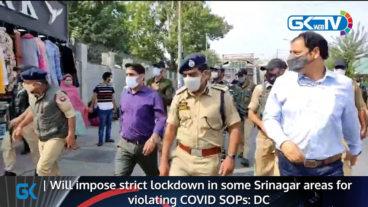 Will impose strict lockdown in some Srinagar areas for violating COVID SOPs: DC