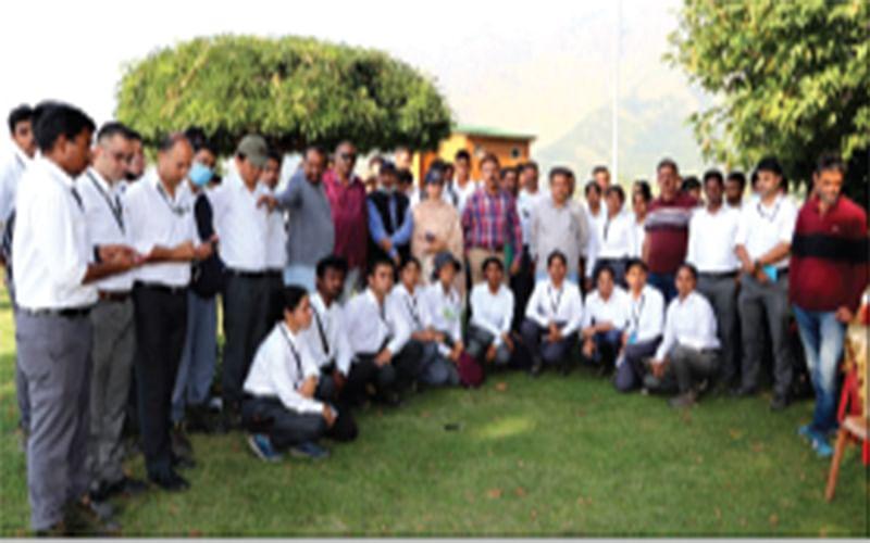 LAWDA imparts training to Telangana SFA trainees