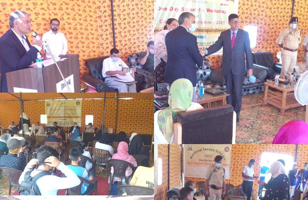 J&K Armed Police organises scientific workshop at Eidgah