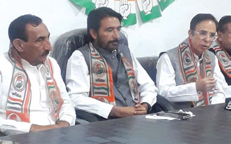 G A Mir welcomes Prof Ashna for joining Congress