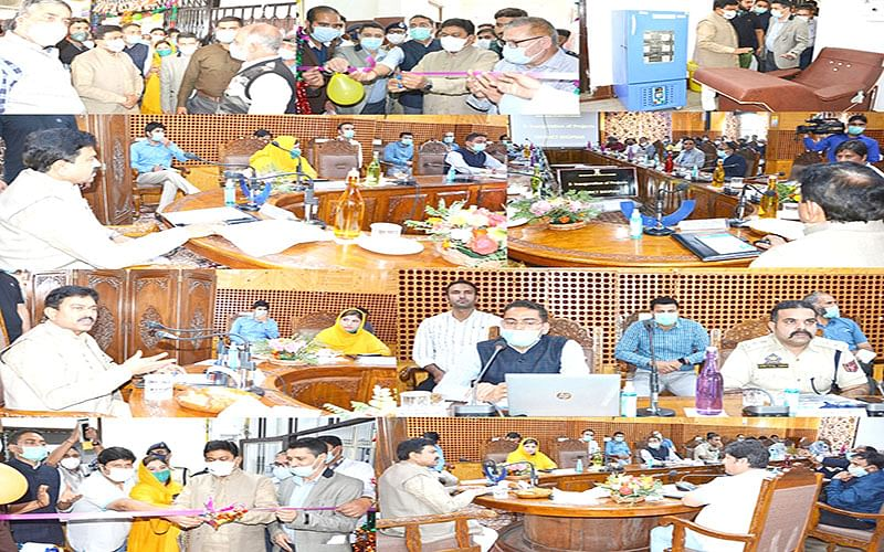 Union MoS Home visits Shopian, inaugurates several projects